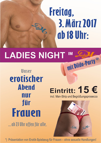 Ladies Night am 03.03.2017, ab 18 Uhr