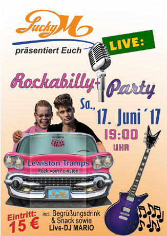 Rockabilly-Party im Lucky M.