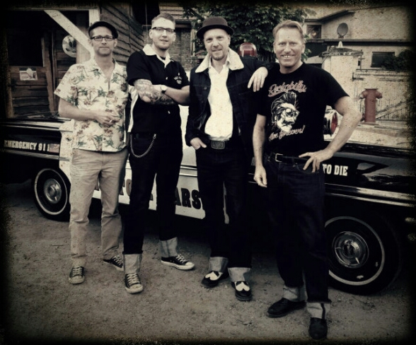 Tunepickers live bei der Rockabilly-Party im Lucky M.